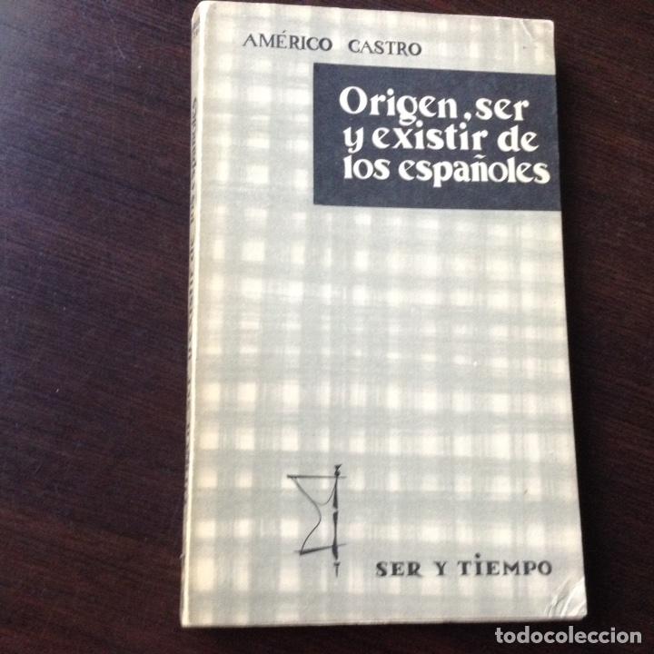ORIGEN SER ESPAÑOL (Libros de Segunda Mano - Pensamiento - Sociología)