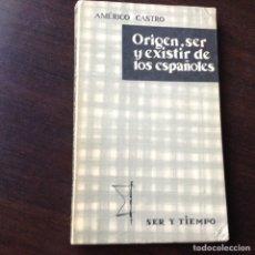 Libros de segunda mano: ORIGEN SER ESPAÑOL. Lote 82474448