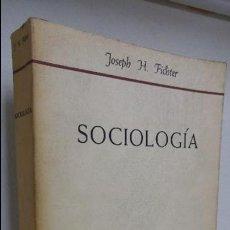 Libros de segunda mano: SOCIOLOGÍA . Lote 82536932