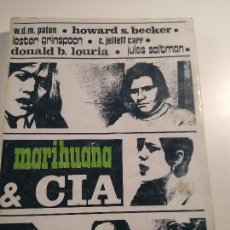 Libros de segunda mano: MARIHUANA Y CIA – HOWARD BECKER Y OTROS. Lote 83557984