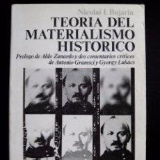 Libros de segunda mano: NICOLAI I. BUJARIN. TEORÍA DEL MATERIALISMO HISTÓRICO.SIGLO XXI. SIGLO VEINTIUNO EDITORES. 1974.. Lote 84807500
