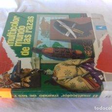 Libros de segunda mano: EL MULTICOLOR MUNDO DE LAS RAZAS - ED. EVEREST - TAPAS DURAS - GRAN FORMATO - AÑO 1977 2ª ED-VER FOT. Lote 86993444