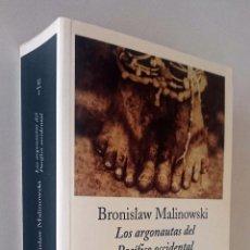 Libros de segunda mano: LOS ARGONAUTAS DEL PACÍFICO OCCIDENTAL. BRONISLAW MALINOWSKI.. Lote 103826383