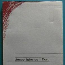 Libros de segunda mano: SINTESI DE LA POBLACIO DEL BAIX CAMP A PARTIR DEL SEGLE XIV. JOSEP IGLESIES I FORT. 1ª EDICIO. Lote 88783860