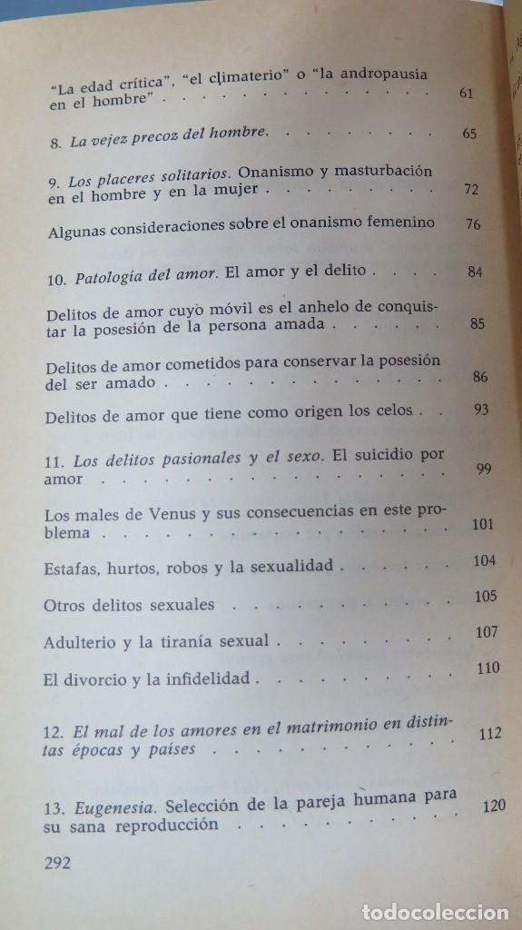 Libros de segunda mano: EL HOMBRE LA MUJER Y EL PROBLEMA SEXUAL. DR. I. ALGORA GORBEA - Foto 3 - 88842008