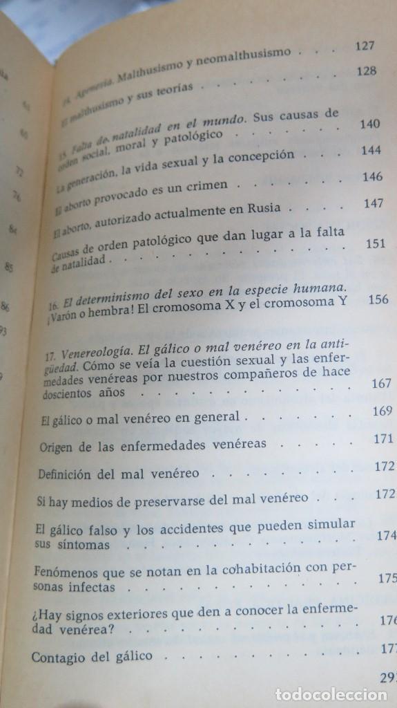 Libros de segunda mano: EL HOMBRE LA MUJER Y EL PROBLEMA SEXUAL. DR. I. ALGORA GORBEA - Foto 4 - 88842008