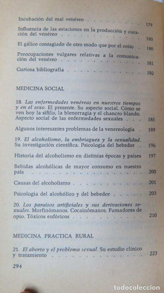 Libros de segunda mano: EL HOMBRE LA MUJER Y EL PROBLEMA SEXUAL. DR. I. ALGORA GORBEA - Foto 5 - 88842008