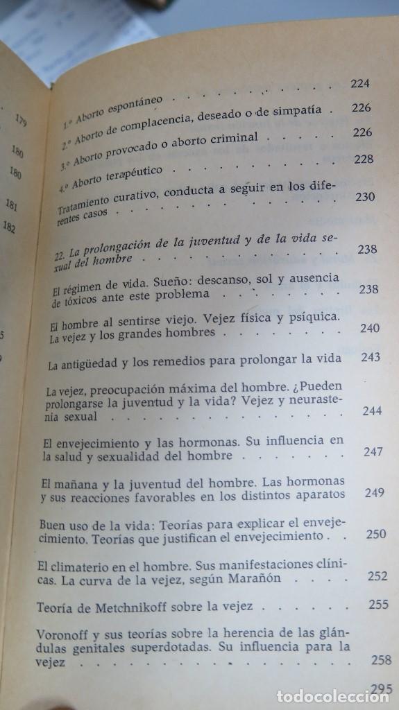 Libros de segunda mano: EL HOMBRE LA MUJER Y EL PROBLEMA SEXUAL. DR. I. ALGORA GORBEA - Foto 6 - 88842008