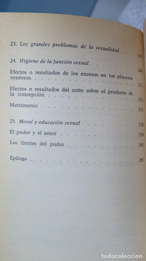 Libros de segunda mano: EL HOMBRE LA MUJER Y EL PROBLEMA SEXUAL. DR. I. ALGORA GORBEA - Foto 7 - 88842008
