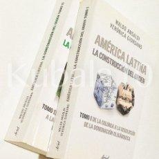 Libros de segunda mano: AMERICA LATINA · LA CONSTRUCCION DEL ORDEN · 2 VOLS. COMPLETA. ·· ED. ARIEL. Lote 90669740