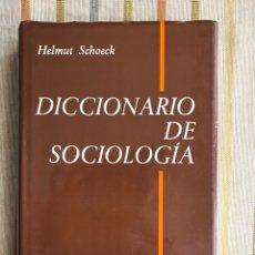Libros de segunda mano: DICCIONARIO DE SOCIOLOGÍA. BIBLIOTECA HERDER. HELMUT SCHOECK. Lote 196661035