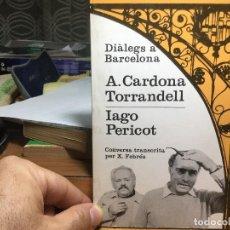 Libros de segunda mano: A. CARDONA TORRANDELL, IAGO. PERICOT.. Lote 95710400