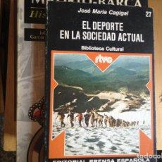 Libros de segunda mano: EL,DEPORTE EN LA SOCIEDAD ACTUAL. JOSÉ MARÍA CAGIGAL. Lote 95579852