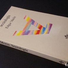 Libros de segunda mano: 1995 - EDGAR MORIN - SOCIOLOGÍA. Lote 96975587