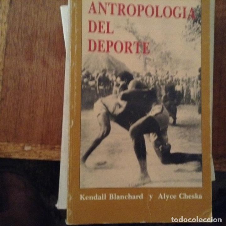 ANTROPOLOGÍA DEL DEPORTE. MENTAL BLANCHARD (Libros de Segunda Mano - Pensamiento - Sociología)