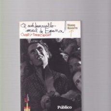 Libros de segunda mano: VICENÇ NAVARRO - EL SUBDESARROLLO SOCIAL DE ESPAÑA - DIARIO PUBLICO 2009. Lote 98956455