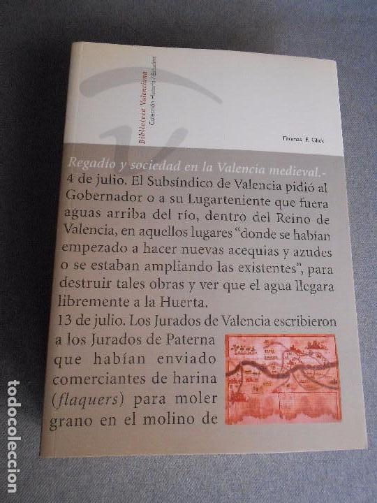 Regadios y sociedad en la valencia medieval comprar - Libreria segunda mano valencia ...