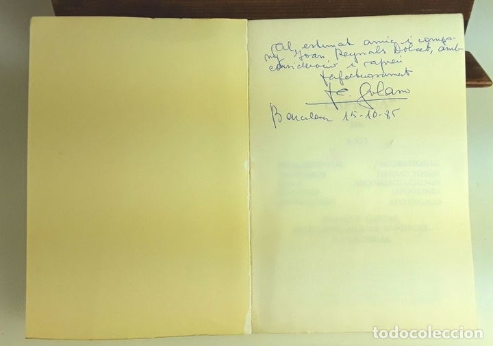 Libros de segunda mano: CAPICUA DE 5555. ANTONIO SOLANO. TIPOGRAFIA EMPÒRIUM. 1985. - Foto 2 - 99650651