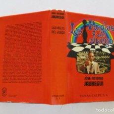 Libros de segunda mano: JOSÉ ANTONIO JAUREGUI. LAS REGLAS DEL JUEGO. RMT83862. . Lote 101301179