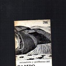 Libros de segunda mano: CAMPO ESPAÑOL - ESTRUCTURA Y PROBLEMAS - JUAN ANLLÓ - CUADERNOS PARA EL DIALOGO 1966. Lote 104301019