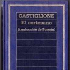 Libros de segunda mano: EL CORTESANO - CASTIGLIONE - 1985. Lote 105081259