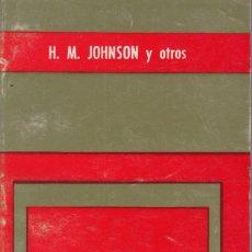 Libros de segunda mano: EL CAMBIO SOCIAL. DE H.M. JOHNSON Y OTROS. PEDIDO MÍNIMO EN LIBROS: 4 TÍTULOS. Lote 109269783