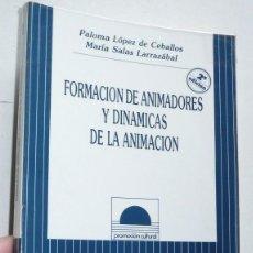 Libros de segunda mano - Formación de animadores y dinámicas de animación - Paloma López de Ceballos, María Salas Larrazábal - 109360583