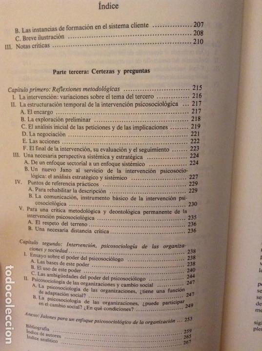 Libros de segunda mano: PSICOSOCIOLOGIA DE LAS ORGANIZACIONES (FRANÇOIS PETIT) HERDER - Foto 7 - 159915804