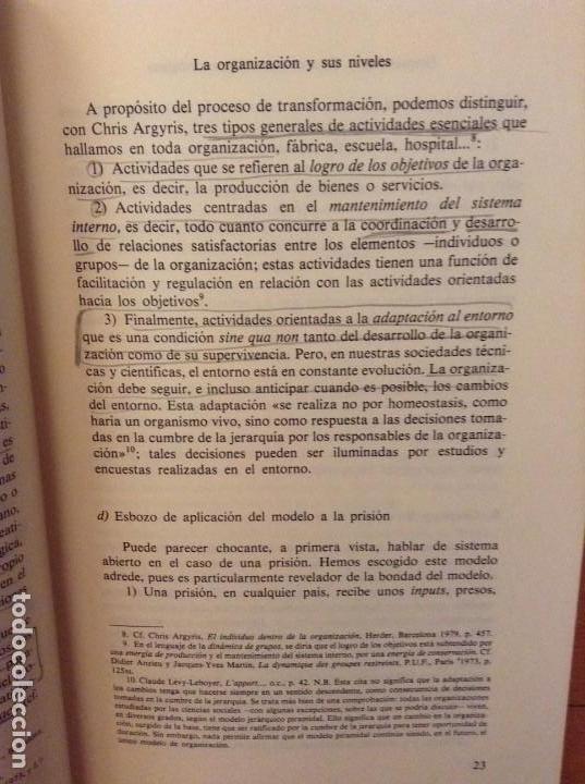 Libros de segunda mano: PSICOSOCIOLOGIA DE LAS ORGANIZACIONES (FRANÇOIS PETIT) HERDER - Foto 10 - 159915804