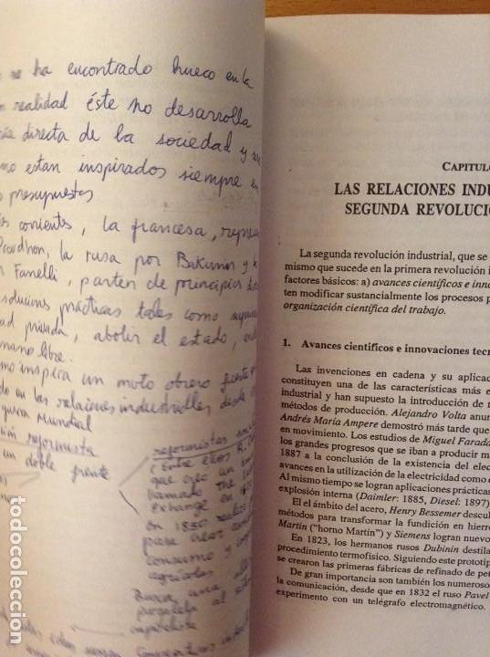 Libros de segunda mano: SOCIOLOGIA DE LAS RELACIONES INDUSTRIALES EN LA SOCIEDAD POSTMODERNA (LUIS SARRIES SANZ) - Foto 6 - 110016671