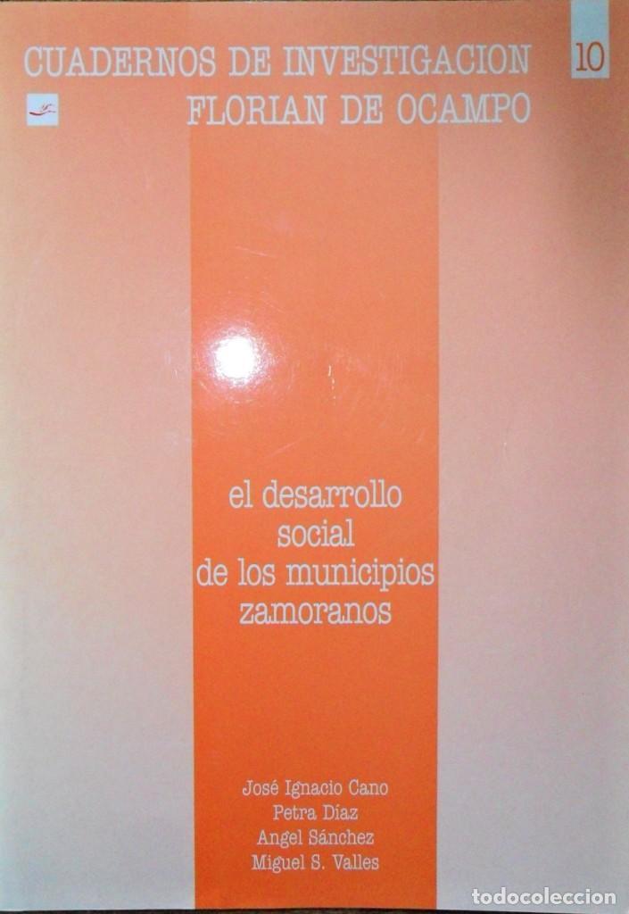 EL DESARROLLO SOCIAL DE LOS MUNICIPIOS ZAMORANOS. (Libros de Segunda Mano - Pensamiento - Sociología)