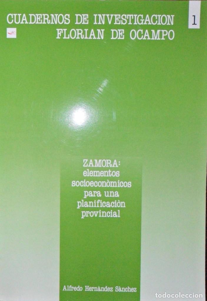 ZAMORA ELEMENTOS SOCIOECONÓMICOS PARA UNA PLANIFICACIÓN PROVINCIAL. ALFREDO HERNÁNDEZ SÁNCHEZ. (Libros de Segunda Mano - Pensamiento - Sociología)