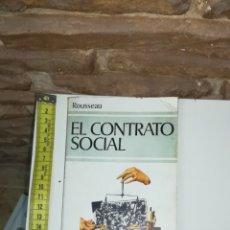 Libros de segunda mano: EL CONTRATO SOCIAL ROUSSEAU. Lote 110786799