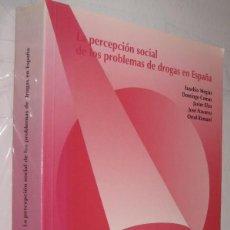 Libros de segunda mano: LA PERCEPCION SOCIAL DE LOS PROBLEMAS DE DROGAS EN ESPAÑA - EUSEBIO MEGIAS *. Lote 111255555