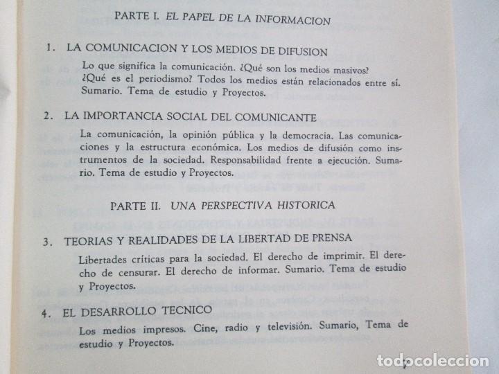 Libros de segunda mano: LAS COMUNICACIONES EN EL MUNDO ACTUAL. EDWIN EMERY. PHILLIP H. AULT. WARREN K. AGEE. 1967 - Foto 9 - 111575303