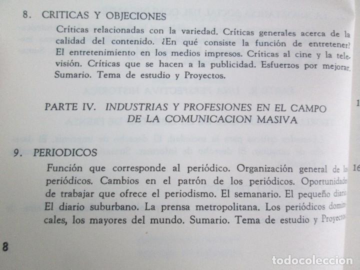 Libros de segunda mano: LAS COMUNICACIONES EN EL MUNDO ACTUAL. EDWIN EMERY. PHILLIP H. AULT. WARREN K. AGEE. 1967 - Foto 11 - 111575303