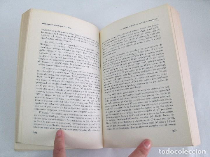 Libros de segunda mano: LAS COMUNICACIONES EN EL MUNDO ACTUAL. EDWIN EMERY. PHILLIP H. AULT. WARREN K. AGEE. 1967 - Foto 17 - 111575303