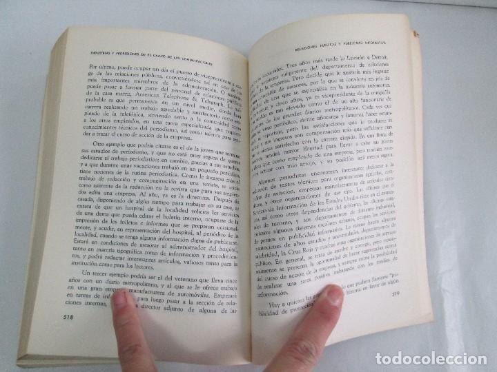 Libros de segunda mano: LAS COMUNICACIONES EN EL MUNDO ACTUAL. EDWIN EMERY. PHILLIP H. AULT. WARREN K. AGEE. 1967 - Foto 19 - 111575303