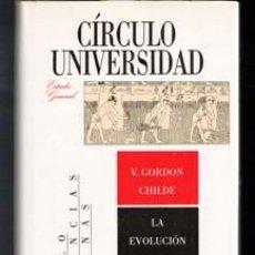 Libros de segunda mano: LA EVOLUCIÓN SOCIAL, V. GORDON CHILDE. Lote 111980846