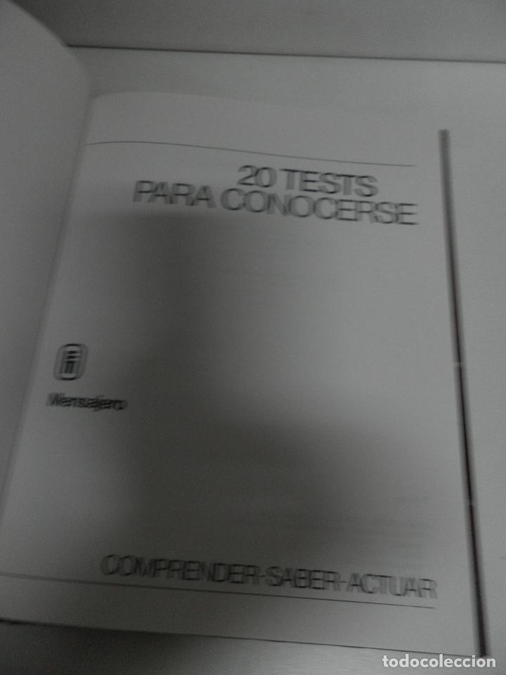 20 TEST PARA CONOCERSE. MICHEL Y FRANCOISE GAUQUELIN,VER FOTOS (Libros de Segunda Mano - Pensamiento - Sociología)