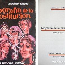 Libros de segunda mano - TUDELA, Mariano. Biografía de la prostitución: una lacra social. 1960. - 112218079