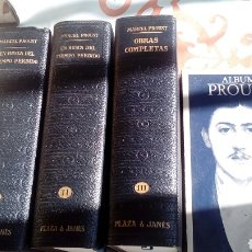 Libros de segunda mano: MARCEL PROUST Y ALBUM. Lote 112771671