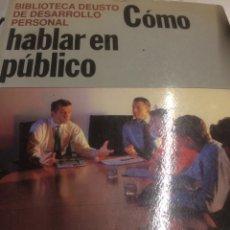 Second hand books - Deusto Como hablar en público - 113424568