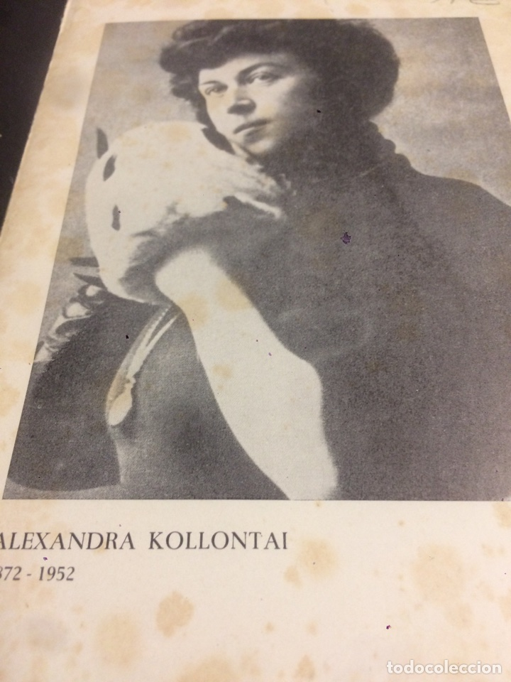 Libros de segunda mano: Alexandra Kollontay Autobuografia de una mujer emancipada - Foto 2 - 113701630