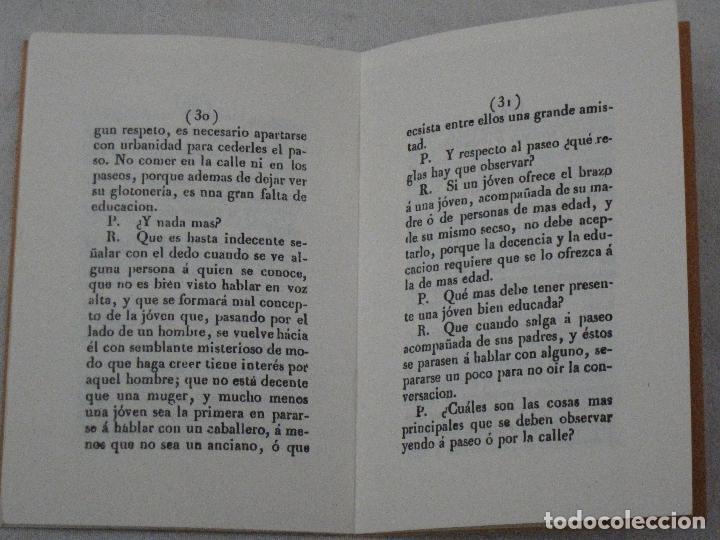 Libros de segunda mano: REGLAS DE URBANIDAD PARA SEÑORITAS - VALENCIA - 1859 - FACSIMIL DE 1995. - Foto 2 - 114189667