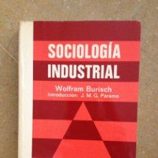 Libros de segunda mano: SOCIOLOGÍA INDUSTRIAL (WOLFRAM BURISCH) PIRAMIDE. Lote 114615792
