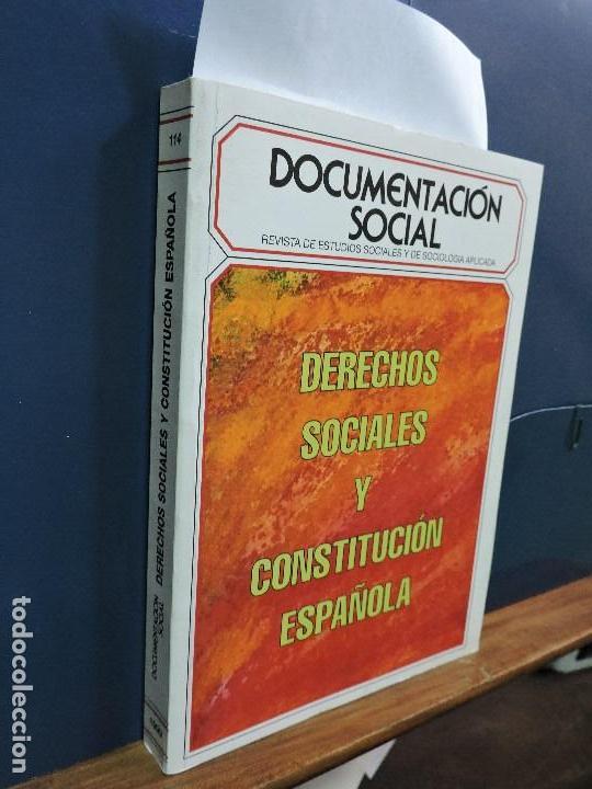 DOCUMENTACIÓN SOCIAL. REVISTA DE ESTUDIOS SOCIALES Y DE SOCIOLOGÍA APLICADA, Nº114 (Libros de Segunda Mano - Pensamiento - Sociología)