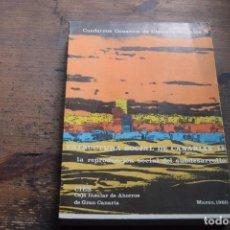 Libros de segunda mano: CUADERNOS CANARIOS DE CIENCIAS SOCIALES Nº 6, MARZO 1980. Lote 116585943