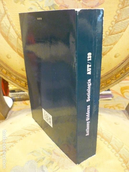 Libros de segunda mano: SOCIOLOGÍA, DE ANTHONY GIDDENS. ALIANZA UNIVERSIDAD 1.992. - Foto 2 - 116635359