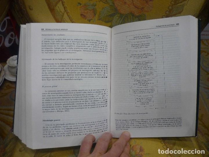 Libros de segunda mano: SOCIOLOGÍA, DE ANTHONY GIDDENS. ALIANZA UNIVERSIDAD 1.992. - Foto 16 - 116635359